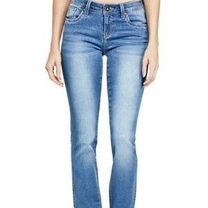 CLEARANCE | GUESS Visha Fit Slim Boot Jean